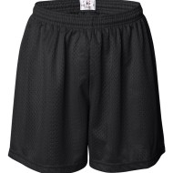 09385 - Womens Pro Mesh shorts - front - black
