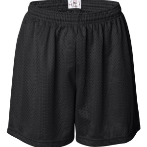 09385 - Womens Pro Mesh shorts - front - black