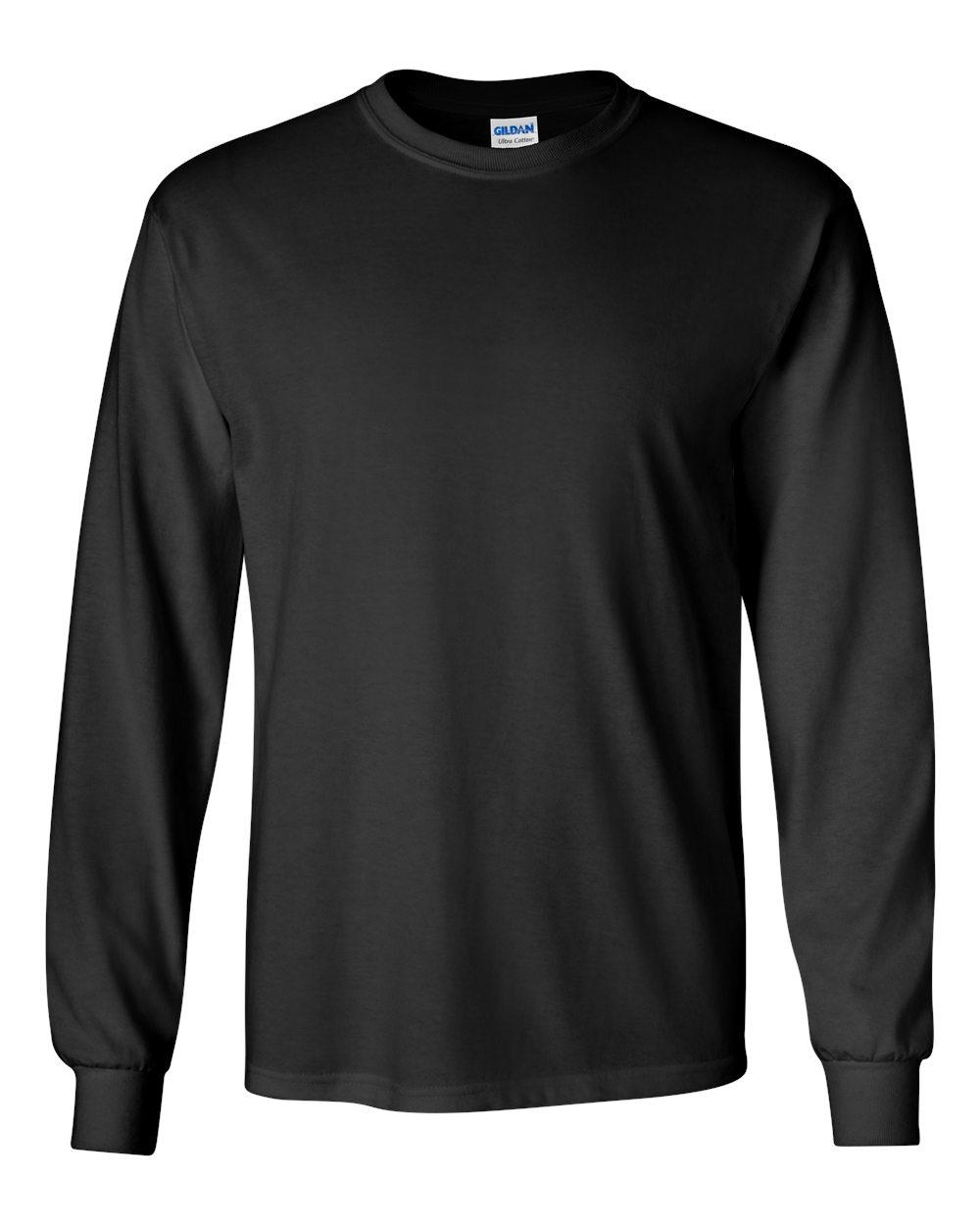 Gildan dryblend 50 50 long sleeved t shirt kirksville for Long sleeve cotton tee shirts