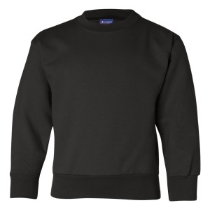 31284 - Youth Champion Sweatshirt - front - black