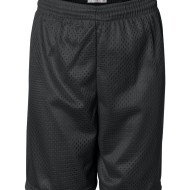 39685 - Youth Pro Mesh Shorts - front - black