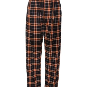 79503 - Classic Flannel pant w pockets - orange black - front