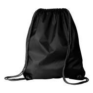 82566 - Lg Drawstring pak with Durocord - black - front