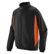 AUG4390 Augusta Medalist Jacket - black-orange