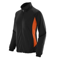 AUG4392 Ladies Medalist Jacket black-orange