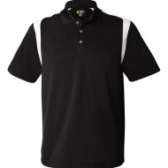 IZOD Performance Sport Shirt with Contrast Color Inserts - front