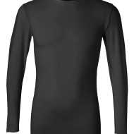 SS02707 - alo Long Sleeve Compression T-Shirt M3003 - black - front