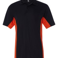 SS13185 - Badger BT5 Sport Shirt 4440 - black orange - front