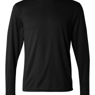 SS82434 - Augusta Performance Long Sleeve T-Shirt - 788 - black - front