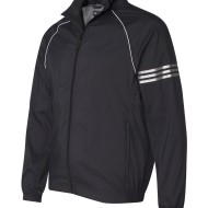 adidas Golf ClimaProof_ Striped Full-Zip Jacket A69 - Black - side
