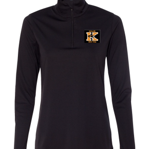 ALO Quarter-Zip Ladies Pullover with DT logo