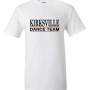WhiteTshirtDanceTeamlogo